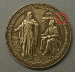 Vatican misspells Jesus on commemorative coin