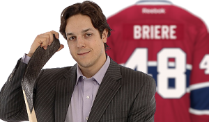 Daniel Briere Montreal Canadiens accent marks